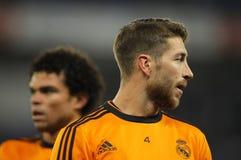 Sergio Ramos del Real Madrid Fotografía de archivo