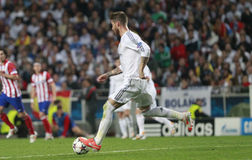 Sergio Ramos Final Champion League 2014 Royalty Free Stock Images