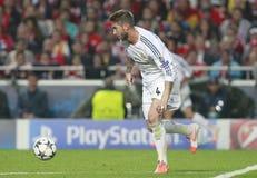 Sergio Ramos Final Champion League 2014 Royalty Free Stock Photos