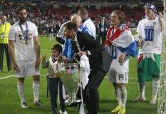 Sergio Ramos Final  Champion League 2014 Stock Photos