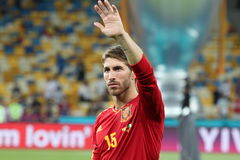 Sergio Ramos Royalty Free Stock Images