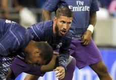 Sergio Ramos of Real Madrid Stock Photography