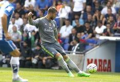 Sergio Ramos van Real Madrid Stock Fotografie