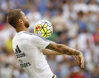 Sergio Ramos van Real Madrid Stock Foto's