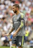 Sergio Ramos von Real Madrid Stockfotografie