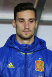 Sergio Rico. Gonzalez goalkeeper of the Spanish National Football Team, pictured before the friendly match between Romania and Spain, played at Cluj Arena Royalty Free Stock Image