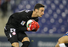 Sergio Rico of Sevilla FC Royalty Free Stock Images