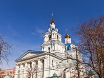 Sergius cathedral (1778). Kursk, Russia Royalty Free Stock Photo