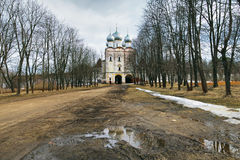 Sergius of Radonezh Church in Borisoglebsky settlement, Russia Stock Images
