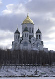 Sergius Radonezhskiy Kirche, Russland Lizenzfreie Stockbilder