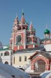 Sergy Radonezhskogo的教会 免版税库存照片