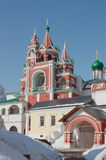 Sergy Radonezhskogo's church Royalty Free Stock Photo