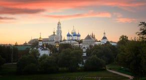 sergy trójkowy klasztoru st Obraz Stock