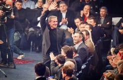 Serhiy Bubka och Vitali Klitschko Royaltyfria Foton