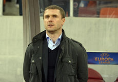 Serhiy Rebrov Royalty Free Stock Images