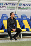 Serhyi REBROV is watching the game Stock Photography