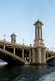 Seri Gemilang Brücke Lizenzfreie Stockfotos