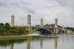 Seri Gemilang Bridge foto de stock