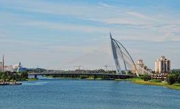 Seri Perdana Bridge in Putrajaya Royalty Free Stock Photos