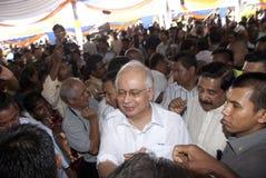 seri razak главного najib министра Малайзии dato Стоковое Изображение RF