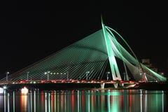 Seri Wawasan桥梁 库存照片