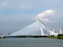 Seri Wawasan Brücke Stockbild