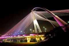 The Seri Wawasan Bridge Stock Photography