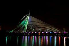 Seri Wawasan Bridge Fotos de Stock