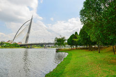 Seri Wawasan Bridge Fotografía de archivo libre de regalías