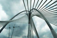 Seri Wawasan Bridge de Putrajaya, Malásia Fotografia de Stock