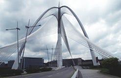 Seri Wawasan Bridge de Putrajaya, Malasia imagen de archivo