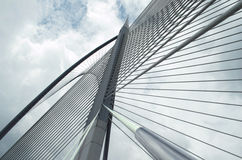 Seri Wawasan Bridge di Putrajaya, Malesia Immagine Stock Libera da Diritti