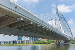 Seri Wawasan Bridge is one of the main bridges in Putrajaya Royalty Free Stock Photography