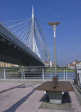 Seri Wawasan Bridge Park Royalty Free Stock Photography