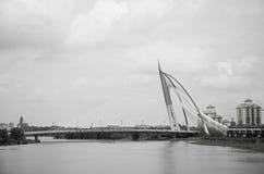Seri Wawasan bridge at putrajaya Royalty Free Stock Image