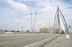 Seri Wawasan bridge at putrajaya Stock Photos
