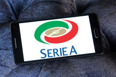 Seria логотип Стоковая Фотография RF