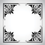 seria ramowy ornamentacyjny rocznik Obrazy Stock