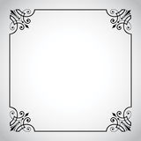 seria ramowy ornamentacyjny rocznik Zdjęcie Stock