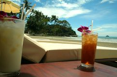 seria tropikalne plażowych Fotografia Royalty Free