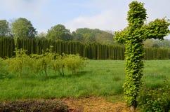 Sericourt-Gärten Lizenzfreie Stockfotos