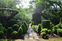 Sericourt-Gärten Stockfoto