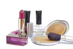Serie 01 de los cosméticos de las mujeres Imagenes de archivo