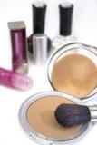 Serie 01 de los cosméticos de las mujeres imagen de archivo libre de regalías