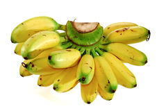 Serie 01 della banana Immagini Stock Libere da Diritti
