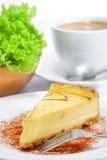 Serie 02 del pastel de queso Imágenes de archivo libres de regalías