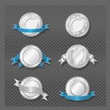 SERIE 08 degli EMBLEMI - medaglione Fotografia Stock