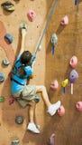 Serie A 15 di scalata di roccia Fotografia Stock
