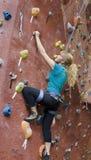 Serie A 18 di scalata di roccia di Khole Immagini Stock