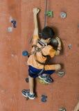 Serie A 2. di scalata di roccia. Immagine Stock Libera da Diritti